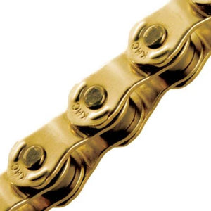 KMC HL810 Bike Chain 100 Links Gold