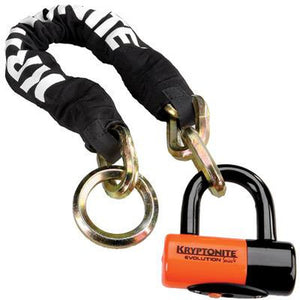 Kryptonite New York Noose 1275 & Evolution 4 Disc Lock 2.5ft.
