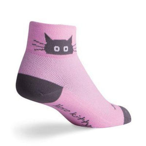 Sock Guy Womens Whiskers Socks 2""