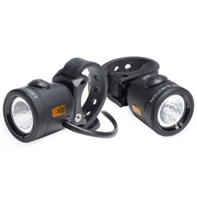 Light & Motion Nip-N-Tuck Combo E-Bike Light Combo Set*