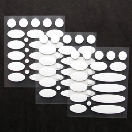 LightWeights Clothing & Gear Safety Adhesive Reflective Kit 60 pcs.