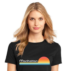 Manhattan Womens SunSet T-Shirt