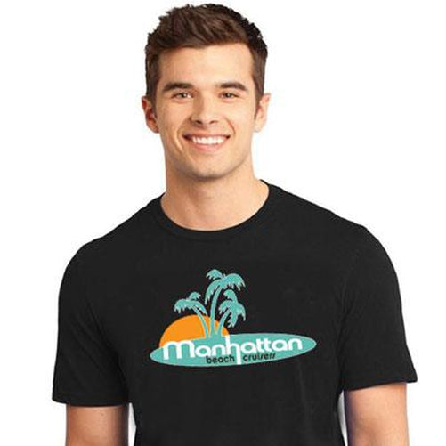 Manhattan Beach Cruiser Palm Tree T-Shirt