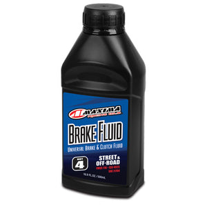 Maxima Universal Disc Brake Fluid Oil DOT 4 16.9oz