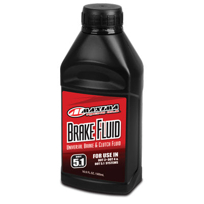 Maxima Universal Disc Brake Fluid Oil DOT 5.1 16.9oz