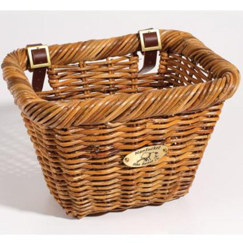 Nantucket Cisco Adult Rectangle Front Handlebar Bike Basket