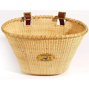 Nantucket Lightship Oval Adult Front Handlebar Bike Basket