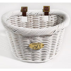 NanTucket Cruiser Adult D-Shape Front Handlebar Bike Basket