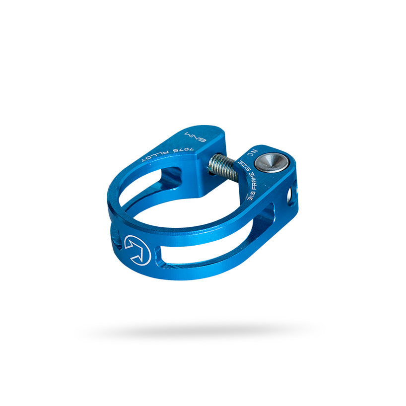 Blue Shimano PRO Performance Alloy Seatpost Clamp Size 28.6//31.8//34.9mm