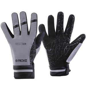 Proviz Reflective 360 Full Finger Gloves Waterproof