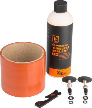 Orange Seal FatBike Tire Tubeless Kit w/ SubZero Sealant