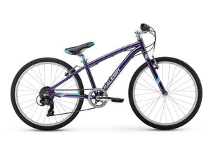"Raleigh Alysa 24 Bike 24"" Girls Youth 9-12 Years 1x7 2018"