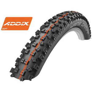 Schwalbe Hans Dampf Addix Soft Super Gravity Evo TL Tire 27.5 x 2.35 HS 426