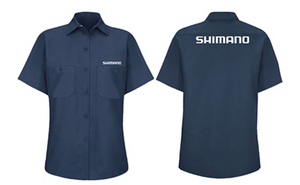 Shimano Women's Mechanic Work Shop Button Up Shirt