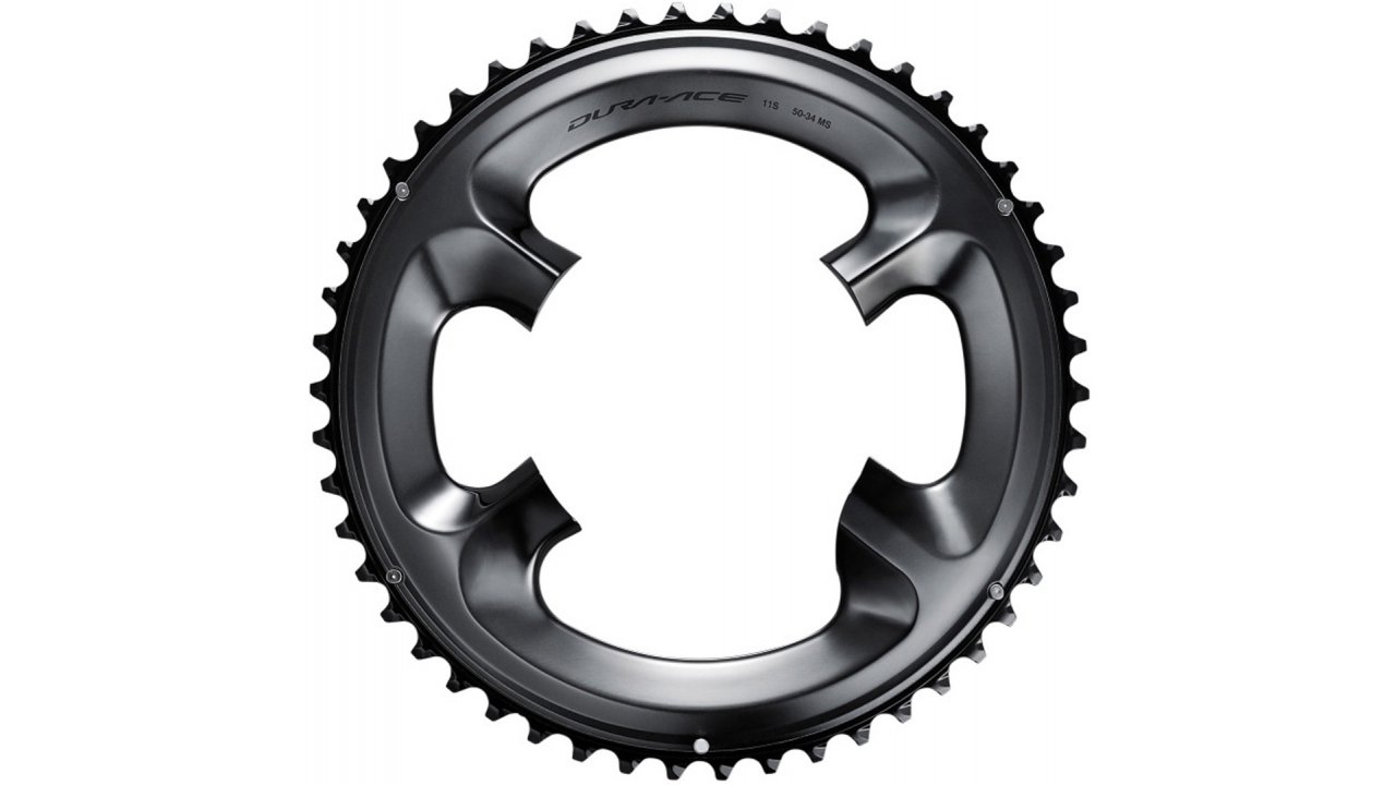 Shimano Dura-Ace R9100 34t 110mm 11-Speed Chainring for 34//50t