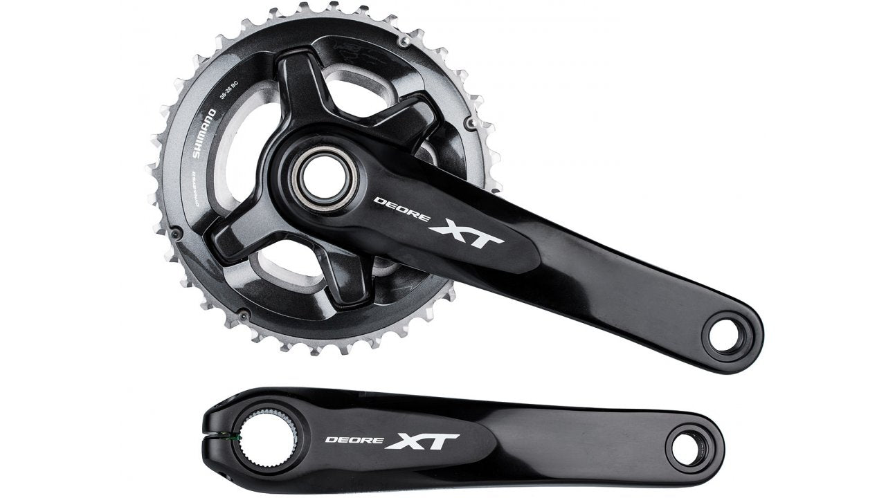 NEW Shimano XT FC-M8000-2 34T  24T 2X 11 Speed Chainring Chain Ring 4 bolt