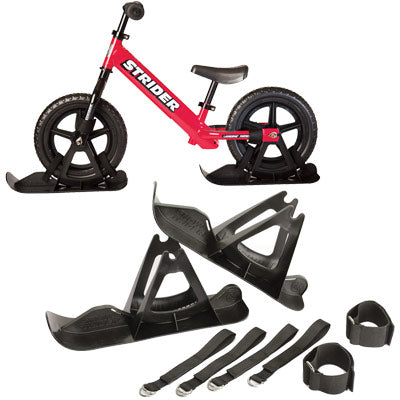 Strider Sports Snow Skis For Strider Balance Kids Bike