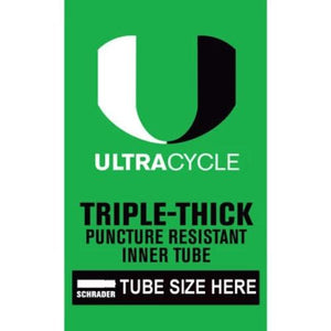 Ultracycle Premium Triple Thick Thorn & Puncture Resistant Tube ALL SIZES AVAILABLE!