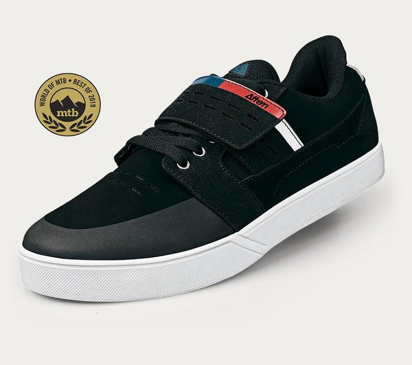 Afton Vectal Quatro MTB Shoes Black/White