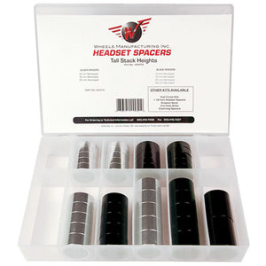 Wheels Manufacturing Alloy Headset Spacer Set Tall (42) Piece