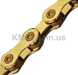 KMC X12 12 speed Chain TI Gold 126 Links