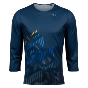 Pearl Izumi Mens Launch 3/4 Sleeve Jersey