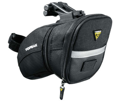 Topeak Aero Wedge Seat Bag w/ QuickClick F25 Fixer