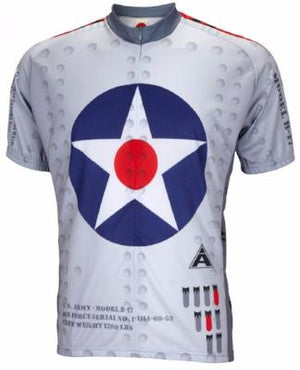 World Jerseys B-17 Flying Fortress Mens Cycling Jersey