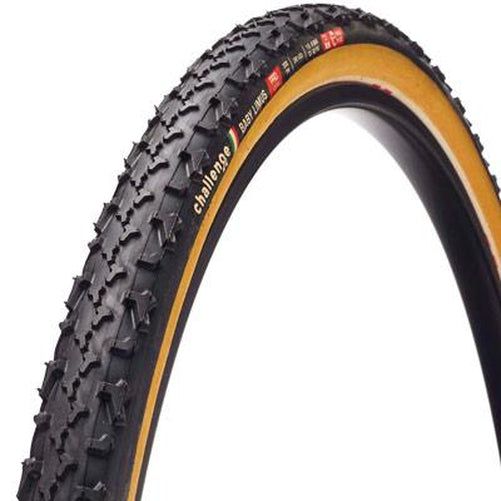 Challenge Baby Limus Pro CX Cyclocross Folding Tire Black/Tan 700 x 33mm