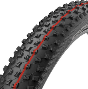 Schwalbe Rocket Ron Addix Speed Evolution Tubeless HS 438 Folding Tire 27.5 x 2.25