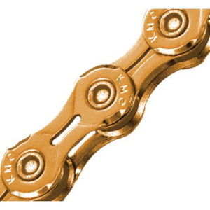 Kmc X11EL Extra Light Chain 118 Links Ti Gold