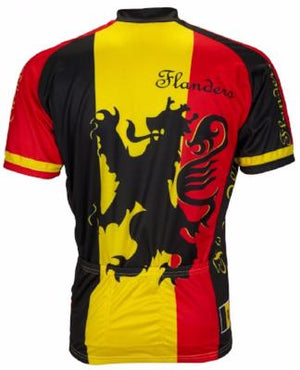 World Jerseys Lion of Flanders Mens Cycling Jersey