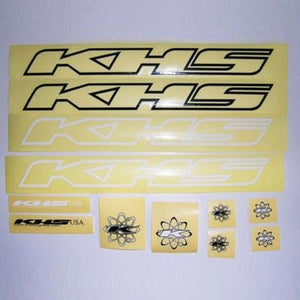 KHS Frame Sticker Decal Pack of 12