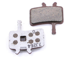 Avid Juicy/BB7 Disc Brake Pads Organic w/ Alloy Back Plate