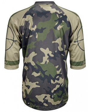 World Jerseys Outlaw MTB Mens Camo 3/4 Jersey
