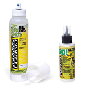 Pedros Go Chain Lube with Bio Shot Bottle Kit