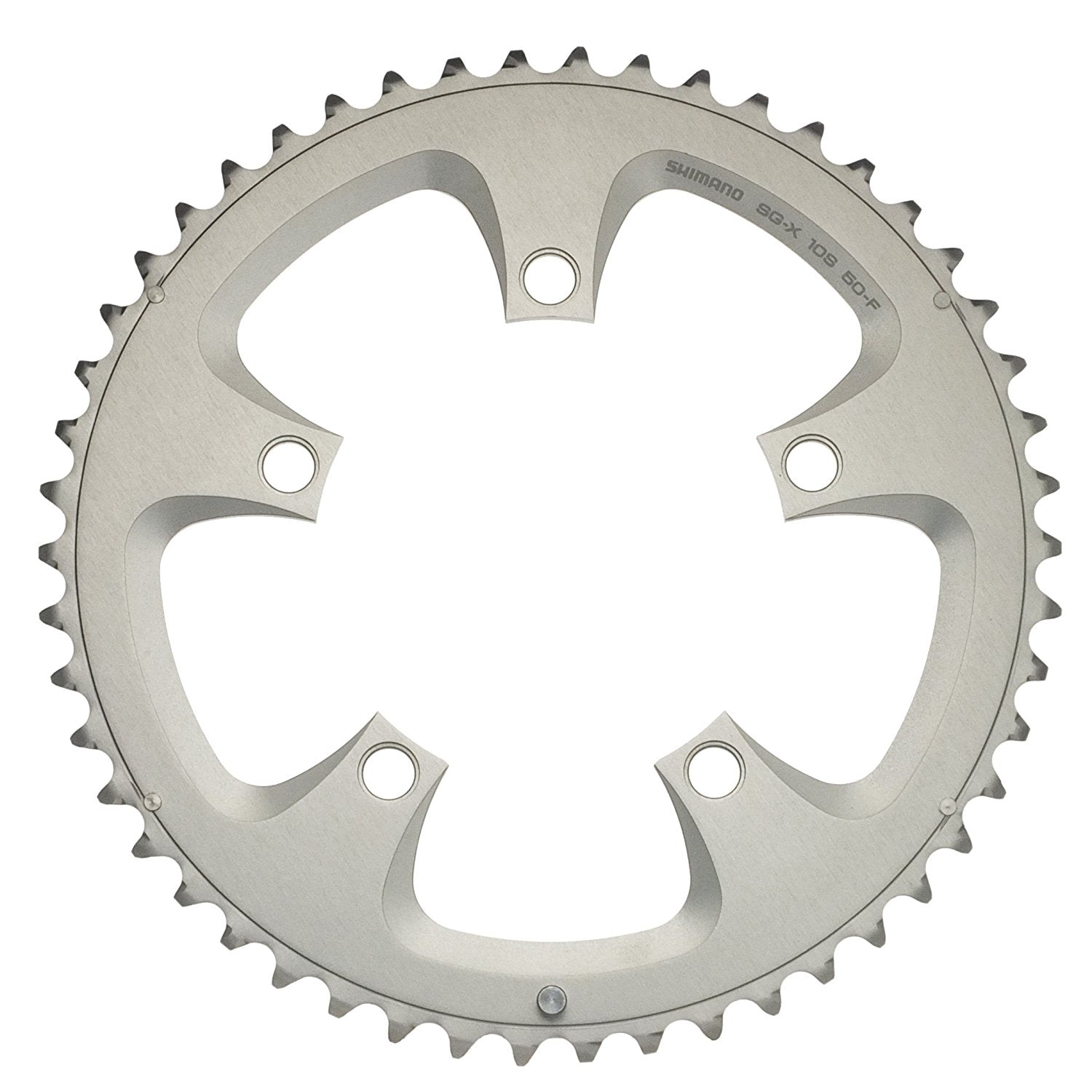 Shimano FC-R600//R700 Chainring 10-Speed Silver 50T 110mm
