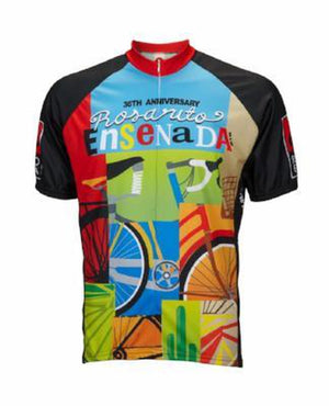 World Jerseys Rosarito Bicicleta Mens Cycling Jersey