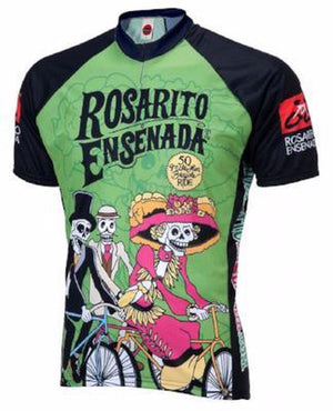 World Jersey Rosarito Day of the Dead Mens Cycling Jersey