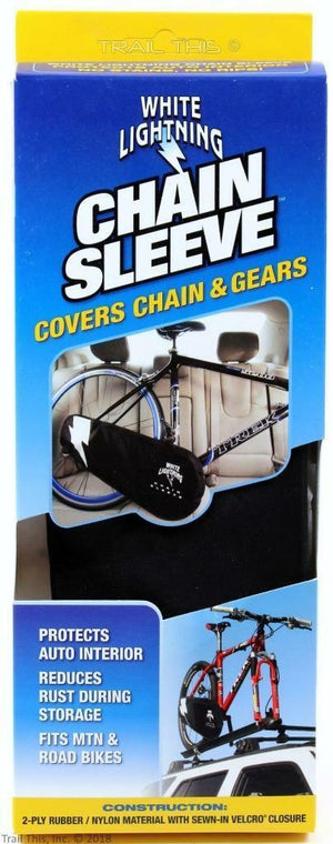 White Lightning Chain Sleeve Drivetrain Cover