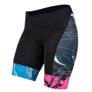 Pearl Izumi Womens Elite Pursuit Graphic Tri Shorts