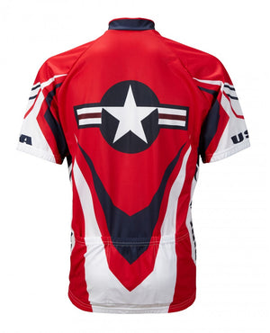 World Jerseys Mens USA Ride Free Jersey