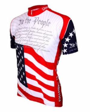 World Jerseys US Constitution Mens Cycling Jersey
