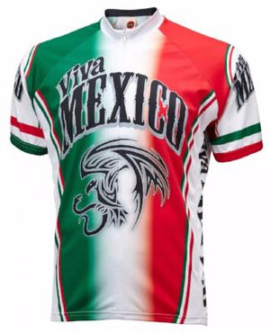 World Jerseys Viva Mexico Mens Cycling Jersey