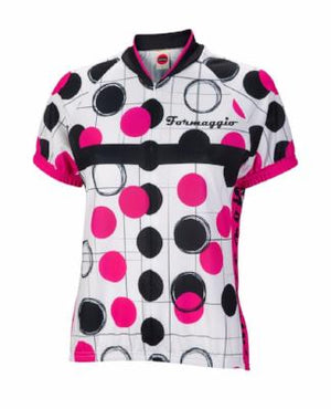 World Jerseys Formaggio Dots Womens Cycling Jersey