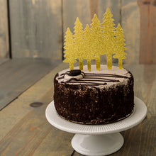 CHRISTMAS:  Tree Farm Cake Topper - Glambanners - 1