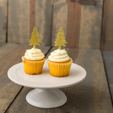 CHRISTMAS:  Tree Farm Cupcake Toppers - Glambanners - 1