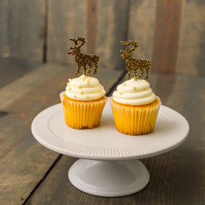 CHRISTMAS:  Rudolph + Co.  Cupcake Toppers - Glambanners - 1