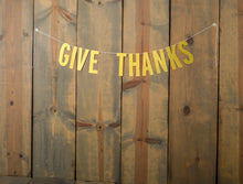 THANKSGIVING:  Give Thanks Banner - Glambanners - 1