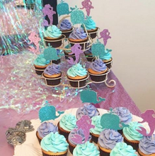 Mermaid Cupcake Toppers - Glambanners - 3